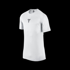 Nike Kobe Mambula Elite Basketball Tee White