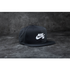 Nike SB Performance Trucker Hat Black/ White