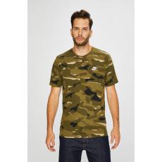 Nike Sportswear - T-shirt - barnás- zöld - 1364553-barnás- zöld