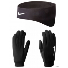 Nike Unisex Kesztyű MENS RUNNING THERMAL HEADBAND/GLOV