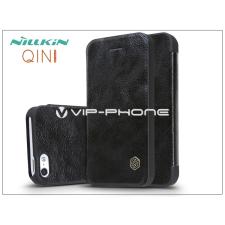 Nillkin Apple iPhone 5/5S/SE oldalra nyíló flipes tok - Nillkin Qin - fekete tok és táska