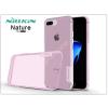 Nillkin Apple iPhone 7 Plus/iPhone 8 Plus szilikon hátlap - Nillkin Nature - pink