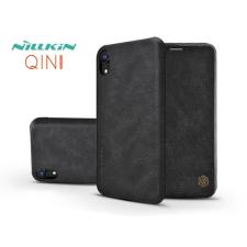 Nillkin Apple iPhone XR oldalra nyíló flipes tok - Nillkin Qin - fekete tok és táska