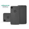 Nillkin Apple iPhone XR oldalra nyíló flipes tok - Nillkin Sparkle Logo - fekete