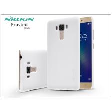 Nillkin Asus ZenFone 3 Laser (ZC551KL) hátlap képernyővédő fóliával - Nillkin Frosted Shield - fehér tok és táska