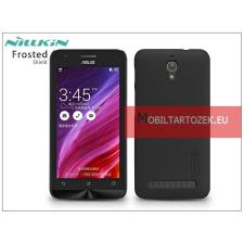Nillkin Asus ZenFone C (ZC451CG) hátlap képernyővédő fóliával - Nillkin Frosted Shield - fekete tok és táska