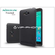 Nillkin Asus ZenFone Max (ZC550KL) hátlap képernyővédő fóliával - Nillkin Frosted Shield - fekete tok és táska