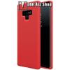 Nillkin Flex Pure szilikon védő tok / hátlap - mikroszálas szövettel bevont belsővel - PIROS - SAMSUNG Galaxy Note9 - GYÁRI