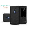 Nillkin Huawei Mate 20 oldalra nyíló flipes tok - Nillkin Qin - fekete