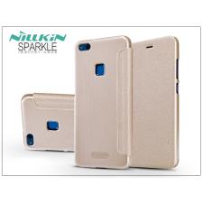 Nillkin Huawei P10 Lite oldalra nyíló flipes tok - Nillkin Sparkle - gold tok és táska