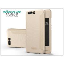 Nillkin Huawei P10 Plus oldalra nyíló flipes tok - Nillkin Sparkle - gold tok és táska