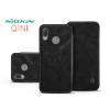 Nillkin Huawei P20 Lite oldalra nyíló flipes tok - Nillkin Qin - fekete