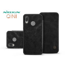 Nillkin Huawei P20 Lite oldalra nyíló flipes tok - Nillkin Qin - fekete tok és táska