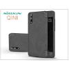 Nillkin Huawei P20 oldalra nyíló flipes tok - Nillkin Qin - fekete