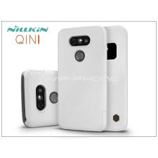 Nillkin LG G5 H850 oldalra nyíló flipes tok - Nillkin Qin - fehér tok és táska