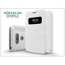 Nillkin LG G5 H850 oldalra nyíló flipes tok - Nillkin Sparkle - fehér tok és táska