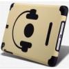 Nillkin Nillkin Music Style puha gumis hátlaptok kemény érdes műanyag bevonattal Apple iPad mini, iPad mini 2, 3-hoz barna-fekete*