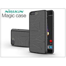 Nillkin OnePlus 5 (A5000) hátlap beépített Qi adapterrel, vezeték nélküli töltő állomáshoz - Nillkin Magic Case - fekete tok és táska