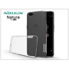 Nillkin OnePlus 5 (A5000) szilikon hátlap - Nillkin Nature - transparent tok és táska