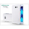 Nillkin Samsung A320F Galaxy A3 (2017) hátlap képernyővédő fóliával - Nillkin Frosted Shield - fehér
