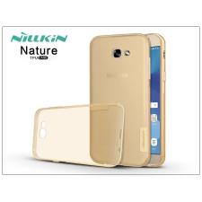 Nillkin Samsung A320F Galaxy A3 (2017) szilikon hátlap - Nillkin Nature - aranybarna tok és táska
