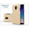 Nillkin Samsung A600F Galaxy A6 (2018) hátlap képernyővédő fóliával - Nillkin Frosted Shield - gold