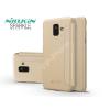 Nillkin Samsung A600F Galaxy A6 (2018) oldalra nyíló flipes tok - Nillkin Sparkle - gold