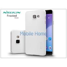 Nillkin Samsung A710F Galaxy A7 (2016) hátlap képernyővédő fóliával - Nillkin Frosted Shield - fehér tok és táska