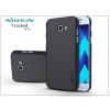Nillkin Samsung A720F Galaxy A7 (2017) hátlap képernyővédő fóliával - Nillkin Frosted Shield - fekete