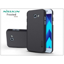 Nillkin Samsung A720F Galaxy A7 (2017) hátlap képernyővédő fóliával - Nillkin Frosted Shield - fekete tok és táska