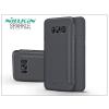 Nillkin Samsung G950F Galaxy S8 oldalra nyíló flipes tok - Nillkin Sparkle - fekete