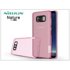Nillkin Samsung G950F Galaxy S8 szilikon hátlap - Nillkin Nature - pink tok és táska