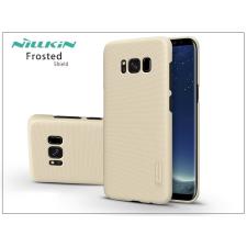 Nillkin Samsung G955F Galaxy S8 Plus hátlap képernyővédő fóliával - Nillkin Frosted Shield - gold tok és táska