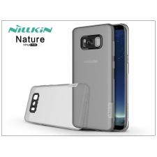 Nillkin Samsung G955F Galaxy S8 Plus szilikon hátlap - Nillkin Nature - szürke tok és táska