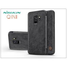 Nillkin Samsung G960F Galaxy S9 oldalra nyíló flipes tok - Nillkin Qin - fekete tok és táska
