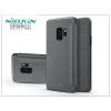 Nillkin Samsung G960F Galaxy S9 oldalra nyíló flipes tok - Nillkin Sparkle - fekete