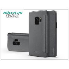 Nillkin Samsung G960F Galaxy S9 oldalra nyíló flipes tok - Nillkin Sparkle - fekete tok és táska