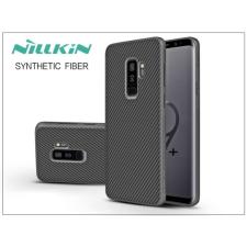 Nillkin Samsung G965F Galaxy S9 Plus hátlap - Nillkin Synthetic Fiber - fekete tok és táska