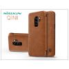 Nillkin Samsung G965F Galaxy S9 Plus oldalra nyíló flipes tok - Nillkin Qin - barna