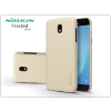 Nillkin Samsung J530F Galaxy J5 (2017) hátlap képernyővédő fóliával - Nillkin Frosted Shield - gold