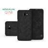 Nillkin Samsung J610F Galaxy J6 Plus oldalra nyíló flipes tok - Nillkin Qin - fekete