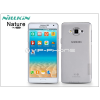 Nillkin Samsung SM-A700F Galaxy A7 szilikon hátlap - Nillkin Nature - szürke
