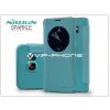 Nillkin Samsung SM-G928 Galaxy S6 Edge+ oldalra nyíló flipes tok - Nillkin Sparkle - kék