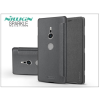 Nillkin Sony Xperia XZ2 (H8216/H8276/H8266/H8296) oldalra nyíló flipes tok - Nillkin Sparkle - fekete