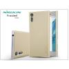 Nillkin Sony Xperia XZ (F8331) hátlap képernyővédő fóliával - Nillkin Frosted Shield - gold