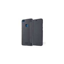 Nillkin Sparkle flip tok Huawei P9 Lite (2017)/ P8 Lite (2017), fekete tok és táska