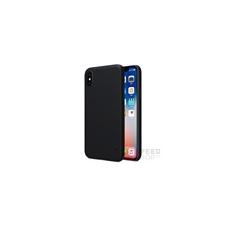 Nillkin Super Frosted hátlap tok Apple iPhone X, fekete + ajándék kijelzővédő fólia tok és táska