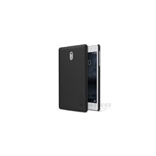 Nillkin Super Frosted hátlap tok Nokia 3, fekete + ajándék kijelzővédő fólia tok és táska