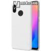 Nillkin SUPER FROSTED műanyag védő tok / hátlap - képernyővédő fólia - érdes felület - FEHÉR - Xiaomi Mi 8 / Xiaomi Mi 8 Explorer - GYÁRI