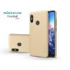Nillkin Xiaomi Mi A2 Lite hátlap képernyővédő fóliával - Nillkin Frosted Shield - gold